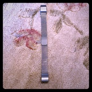 Accessories - Fitbit Alta HR Silver Mesh Band